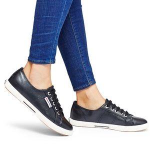 Black Superga Low-Top Sneakers